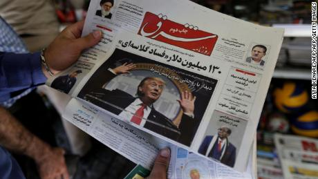 Trump snaps back Iran sanctions aiming to change, not topple Tehran, officials say