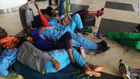 Chaos as top African athletes stranded at Lagos airport
