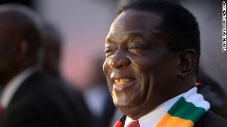 "Zimbabwean President-elect Emmerson Mnangagwa (above) says he wants to unite the country, but opposition figures call him a ""pretender."""