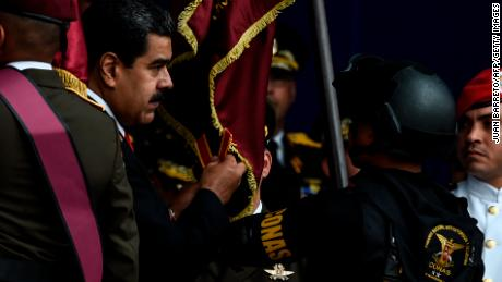 Two Venezuela officers detained in alleged plot on Maduro