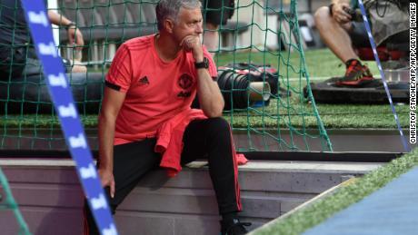 """Mourinho's behaviour has been described as """"bizarre."""""""