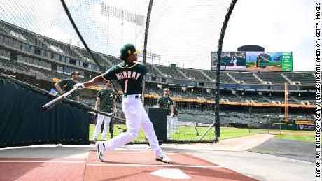 Murray committed to the Oakland A's despite a shot at the NFL.