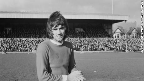 George Best is regarded as the first British sportsman to be accorded pop star status.