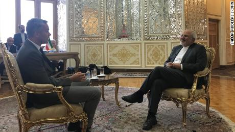 Exclusive: Iranian Foreign Minister Zarif says US addicted to sanctions