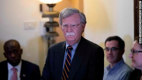 Bolton vows to exert pressure on Iran but says regime change 'not American policy'