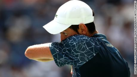 Novak Djokovic enjoys 'magnificent' ice bath as US Open players wilt in heat