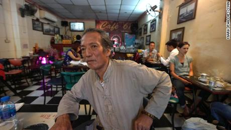 Le Tran Lua, 68, claims he helped drag John McCain out of Truc Bach Lake in Hanoi after McCain's jet was shot down.