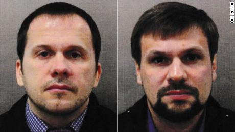 Russians accused over Salisbury poisoning were in city 'as tourists'