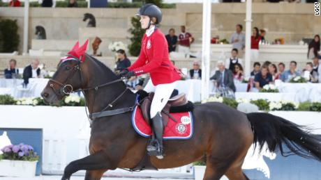 Horse of a lifetime: Emily Moffitt's Hilfiger