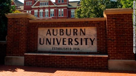 Three football players from Auburn University tested positive for Covid-19.