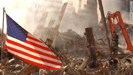 9/11: 'A gray cloud of debris rolled violently toward us...'