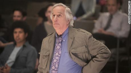 "Henry Winkler in  ""Barry."""