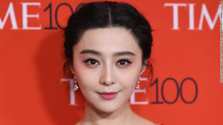 missing chinese actress fan