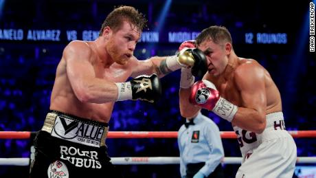 Canelo Alvarez and Gennady Golovkin traded punches for twelve rounds on Saturday.
