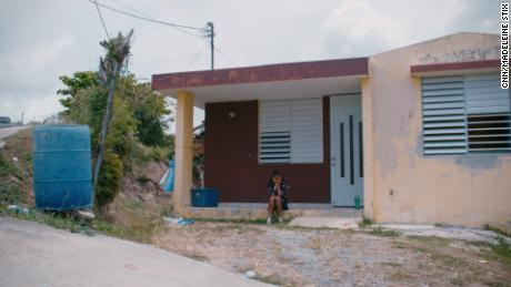 """Alexsandra, 13, and her family were without power for more than 9 months after the hurricane. """"Sometimes there's nothing to do and I feel, like, trapped in one place,"""" she said in June. """"It's been really difficult."""""""