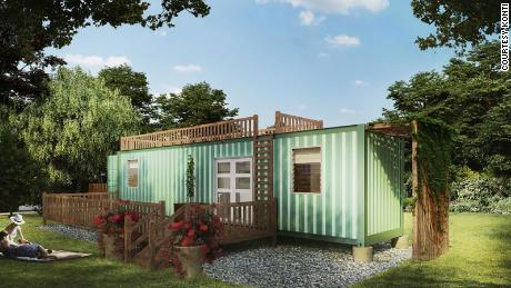 KONTi's vision is to turn shipping containers into safe and affordable homes.