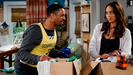 "A scene from CBS's ""Happy Together."""