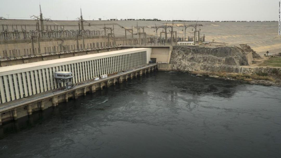 Egypt's own very large dam -- the High Aswan Dam -- was built between 1960 and 1970.