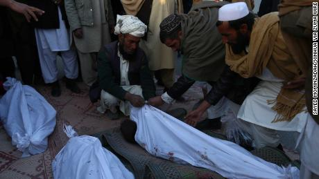 Deaths of civilians spike as US, Afghan air forces pound Afghanistan