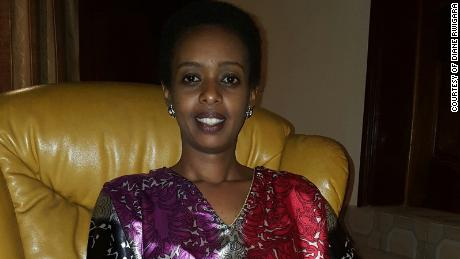 Awaiting trial, Rwandan opposition leader says she's determined to hold government accountable
