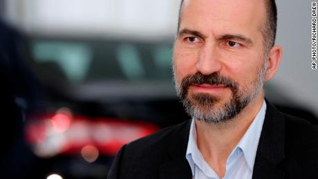 "Uber CEO Dara Khosrowshahi says he is ""very troubled"" by the disappearance of Jamal Khashoggi."