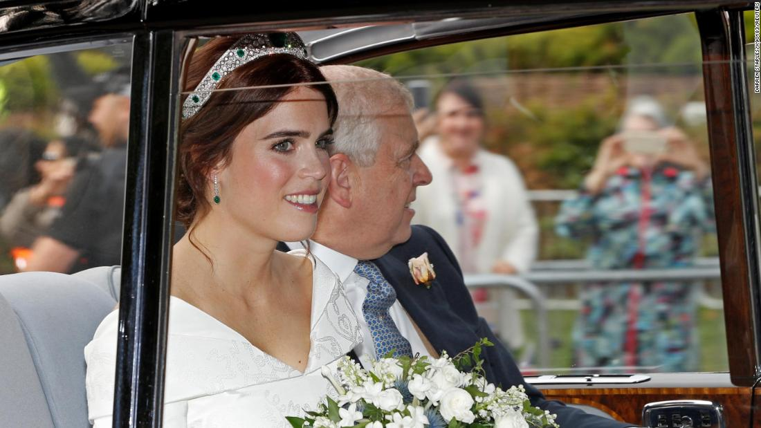 Princess Eugenie makes bold statement with wedding dress