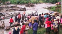 A  Red Cross photo of a river that burst its banks in Bukalasi