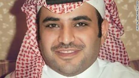 Saud al Qahtan is seen in a photo from his verified Twitter account