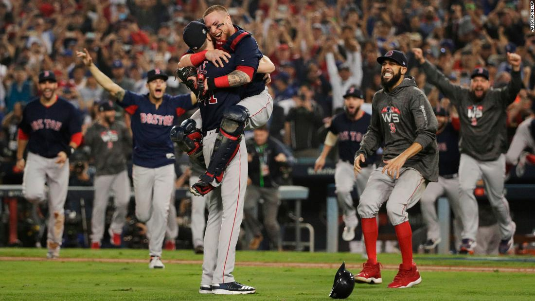 Red Sox win 4th World Series in 15 years  CNN