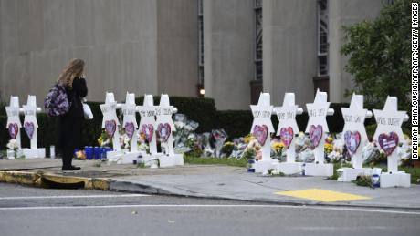 Eleven people were gunned down at Pittsburgh's Tree of Life synagogue.