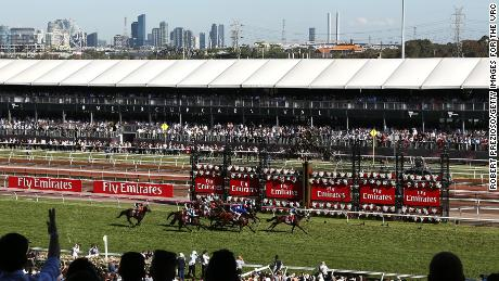 Melbourne's Spring Festival, which includes the Melbourne Cup, takes place at Flemington Racecourse.