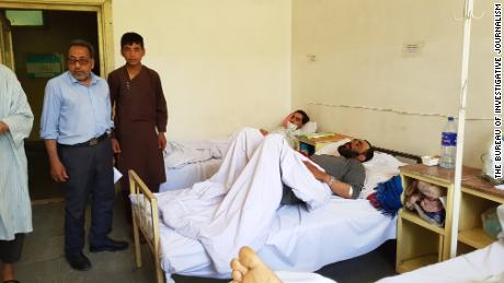 Patients at Antoni Infectious Disease Hospital in Kabul, Afghanistan.