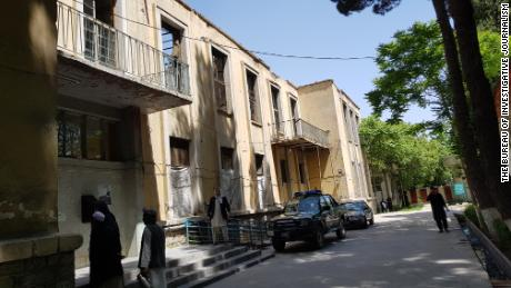 Antoni Infectious Disease Hospital in Kabul.