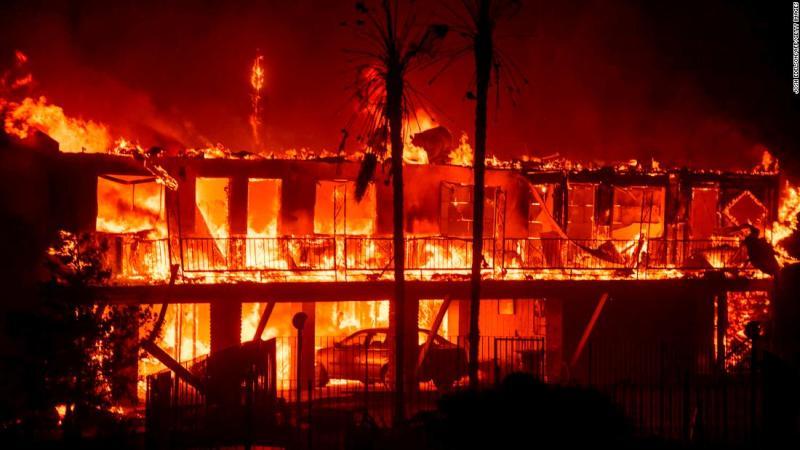 The Paradise Inn burns on November 8.