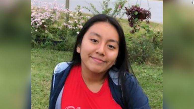 Hania Aguilar, 13, was abducted Monday in Lumberton, North Carolina, police say.