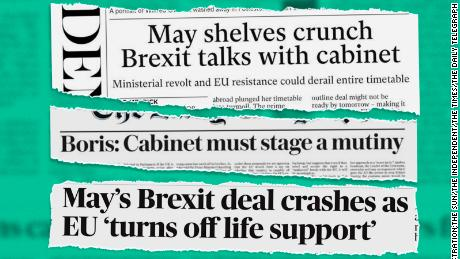 UK media say Brexit is becoming a catastrophe