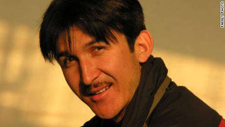 Ahmatjan Juma, a teacher and brother of Uyghur journalist Mamatjan Juma, who disappeared in Xinjiang in 2017