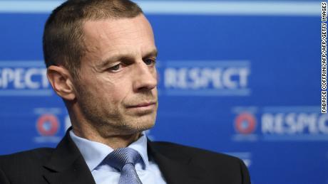 UEFA president Aleksander Ceferin did not hold back on the new Super League plans.