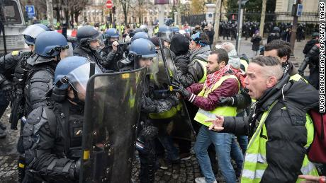 President Macron is instead bearing the brunt of widespread French discontent.
