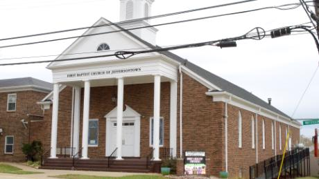 An hour before a shooter attempted to go inside this church it was packed with dozens of worshippers.
