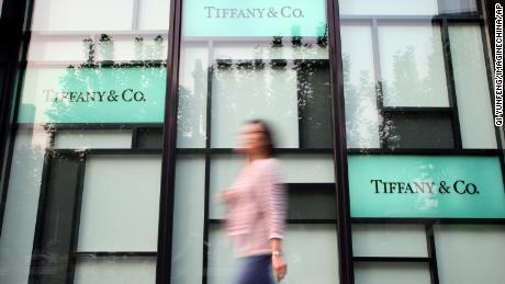 Chinese tourists are spending less at Tiffany's. That's a worrying sign