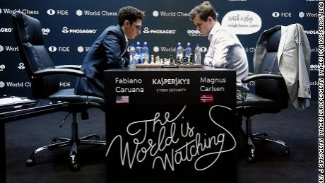 Carlsen and Caruana had drawn all 12 classic games