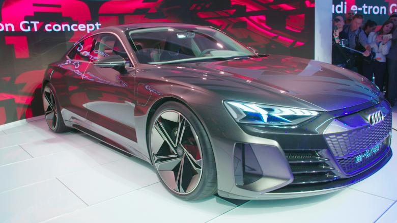 audi shows off its