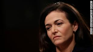 Facebook will work with Germany to combat election interference, Sheryl Sandberg says