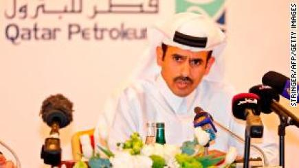 Qatar's newly appointed energy minister, Saad Sherida Al-Kaabi. He announced on Monday that Qatar will be withdrawing from OPEC in January.
