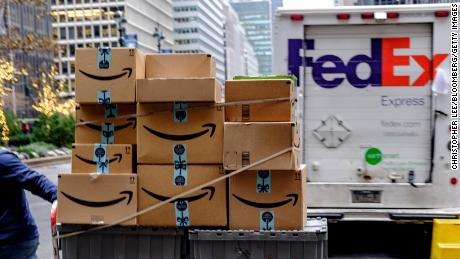 UPS and FedEx plunge on Amazon Air fears
