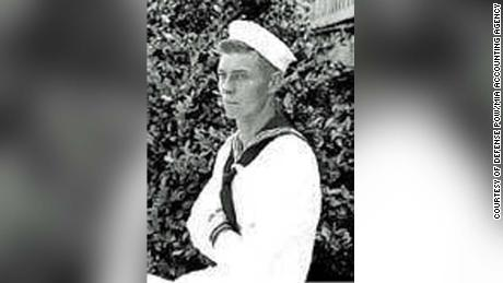 Carl Dorr in a photo released by the US Navy when his remains were identified.