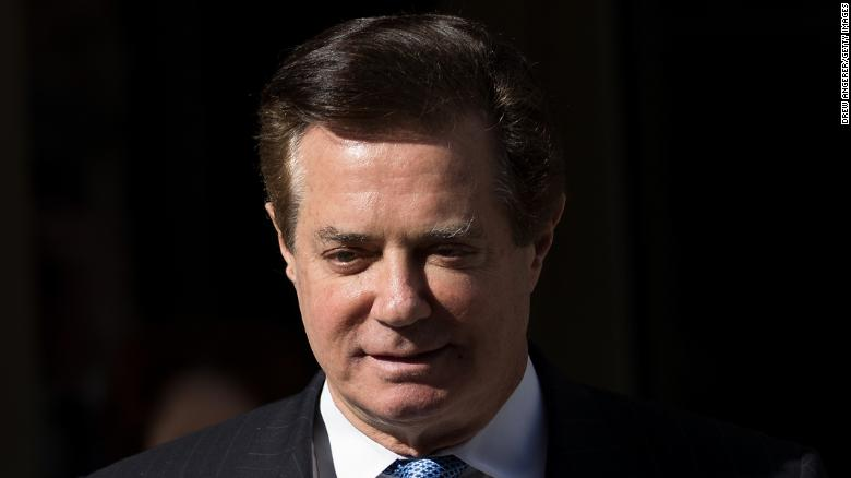 WASHINGTON, DC - FEBRUARY 28: Paul Manafort, former campaign manager for Donald Trump, exits the E. Barrett Prettyman Federal Courthouse, February 28, 2018 in Washington, DC. This is ManafortÕs first court appearance since his longtime deputy Rick Gates pleaded guilty last week in special counsel Robert MuellerÕs Russia probe. (Photo by Drew Angerer/Getty Images)