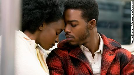 KiKi Layne and Stephan James in 'If Beale Street Could Talk'