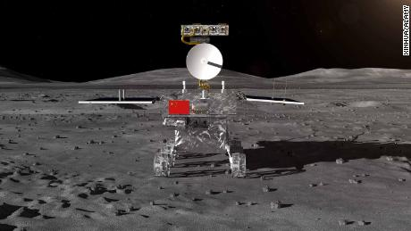 China Moon Rover Touches the Moon, State Media Announces